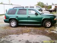 2003 durango 4.7 auto, bad engine, complete parts only,