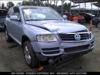 We are parting out 2003 VW Tauareg (see information