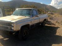 Parting out an 84 Chevy for sale. Has a rebuilt 700R4