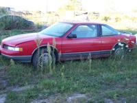 PARTING OUT A 1991 OLDS CUTLASS SUPREME SL 2DR  GLASS