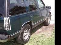 I AM PARTING OUT A 1995 TWO WHEEL DRIVE TAHOE. THE