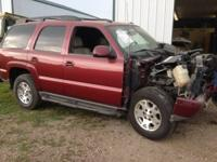 I AM PARTING OUT A 04 Z71 TAHOE. IT HAS 126,000 MILES