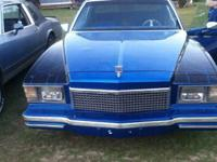 1978 Monte Carlo with t-tops this vehicle is tough to