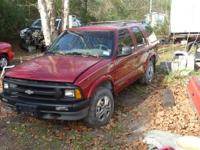 selling parts for a 95 blazer lots of good parts, good