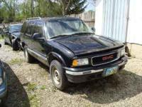 PARTING OUT A 96 GMC BLAZER WITH LOTS OF GOOD PARTS