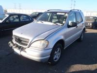 PARTING OUT A 1999 MERCEDES BENZ ML320. FRONT DRIVER