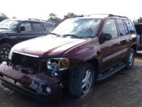 WE ARE PARTING OUT A 2002 ENVOY 4.2 L WITH AUTOMATIC