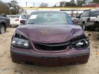 WE ARE PARTING OUT A 2003 IMPALA 3.4 L WITH AUTOMATIC