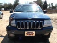WE ARE PARTING OUT A 2003 JEEP GRAND CHEROKEE 4.0 L