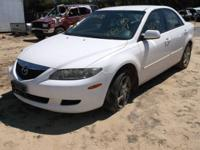 WE ARE PARTING OUT A 2003 MAZDA 6 3.0 L WITH AUTOMATIC