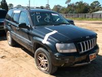 WE ARE PARTING OUT A 2004 JEEP GRAND CHEROKEE 4.0 L