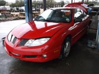 WE ARE PARTING OUT A 2005 SUNFIRE 2.2 L WITH AUTOMATIC