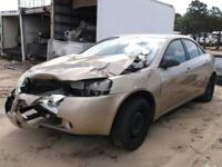WE ARE PARTING OUT A 2007 PONTIAC G6 2.4 L WITH