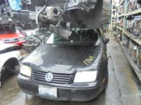 Parting out - 2000 VW Jetta - Black - Parts - Stock