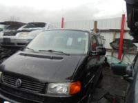 Parting out - 1999 VW Eurovan - Black - Parts - Stock