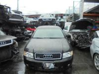 Parting out - 2004 Audi A4 - Black - Parts - Stock