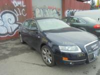 Parting out - 2005 Audi A6 - Blue - Parts - Stock