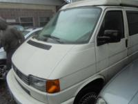 Parting out - 1995 Eurovan - White - Parts - Stock
