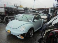 Parting out - 2005 VW Beetle - Turquoise - Parts -