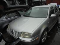 Parting out - 2001 Vw Jetta - Silver - Parts - Stock