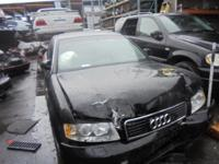 Parting out - 2002 Audi A4 - Black - Parts - Stock