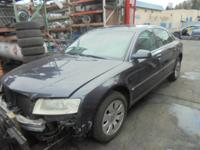 Parting out - 2004 Audi A8 - Gray - Parts - Stock
