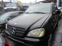 Parting out - Merecdes ML 320 - Black - Parts - Stock