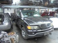 Parting out - 2002 BMW X5 - Black - Parts - Stock