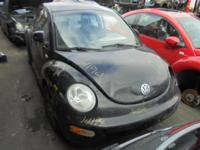 Parting out - 1999 VW Beetle - Black - Parts - Stock