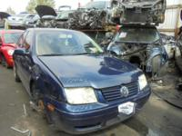 Parting out - 2001 VW Jetta - Blue - Parts - Stock
