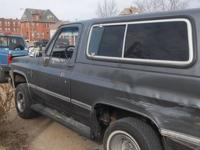 I'm parting out an 1987 Chevy K5 full size Blazer. Some