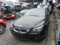 Parting out - 2006 BMW 525i - Black - Parts - Stock