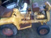 I'm parting out my cub cadet 124 and 72, most of the