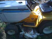 I have a complete CubCadet 1810 Hydrostatic garden