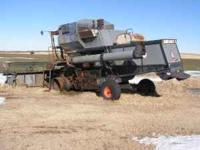 1976 Gleaner 'M', good Allis Chalmers 2900 engine, 300