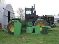 Parting out a 70 Series John Deere 4WD. This tractor
