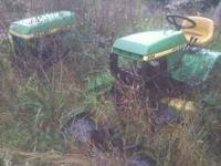 Im parting out my john deere 300 and 314 garden