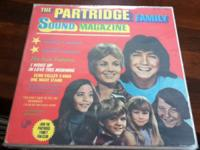 WOW 5 PARTRIDGE FAMILY VINYL ALBUMS WITH AN UNUSED