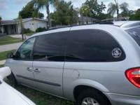 parts only for 2003 dodge van blown mottor but still