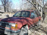 I have misc parts, 5 alloy older Ford ranger wheels@
