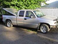 parting this spick-and-span PEWTER 2004 2WD truck