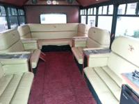15 guest party bus. Please view the photo attached. Bus