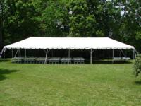 Outdoor tents City Party Rentals Serving the Valley