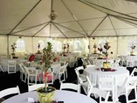 Outdoor tents City Event Rentals Offering the Valley