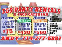 """""BOOK YOUR PARTY RENTALS FOR THIS THANKSGIVING DAY"