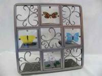 Butterfly Tealight Easel by Partylite -- #P7729