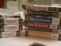 Complete set of Bisk review material for the CPA exam.