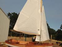 Recently built from a kit and sailed 6 times. Includes