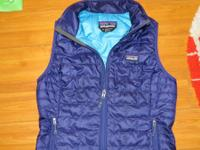 Patagonia Woman's Nano Puff Vest.  Size is small.  Only