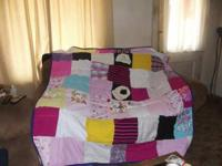 I make hand made patchwork quilts from your infant and